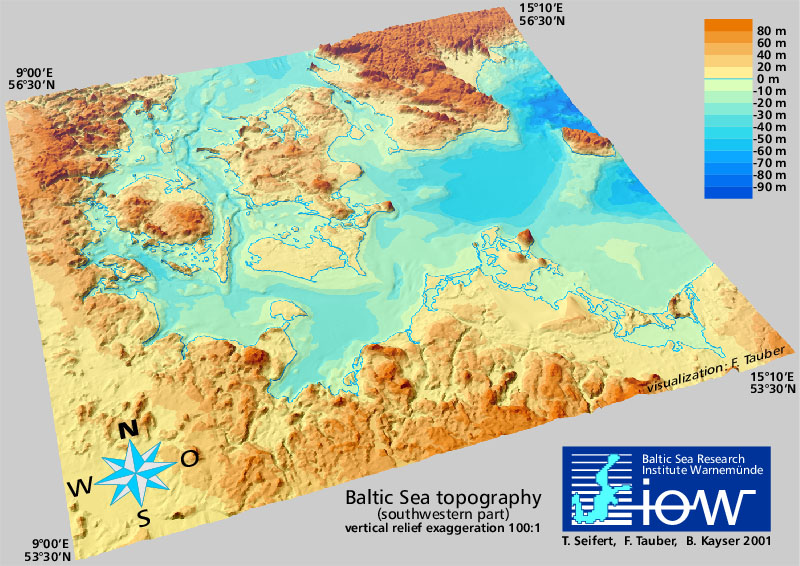 Topography of the Baltic Sea - IOW